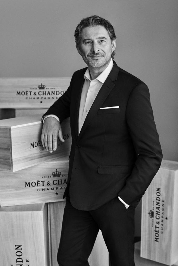 Benoît Gouez - chef de caves - Moët & Chandon